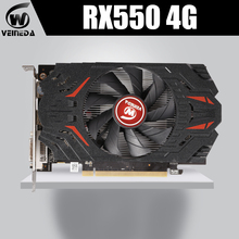 Graphics-Card Video-Gaming Desktop Gddr5 Radeon Rx550 VEINIDA Express-3.0 Pci Gpu 4gb