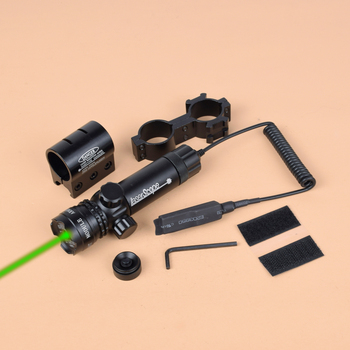цена на Tactical 5mw Green Red Dot Laser Sight Rifle Scope Riflescope Designator 20mm Mount Adjustable Tail Switch For Gun Hunting