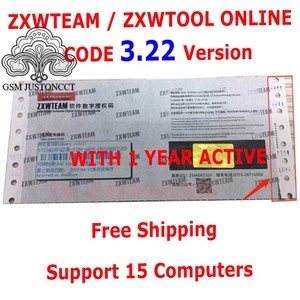 Image 1 - برنامج BlackFish Online ZXW Team الأصلي رمز التفويض الرقمي Zillion x برنامج العمل مخطط الدائرة لجهاز iPhone iPad