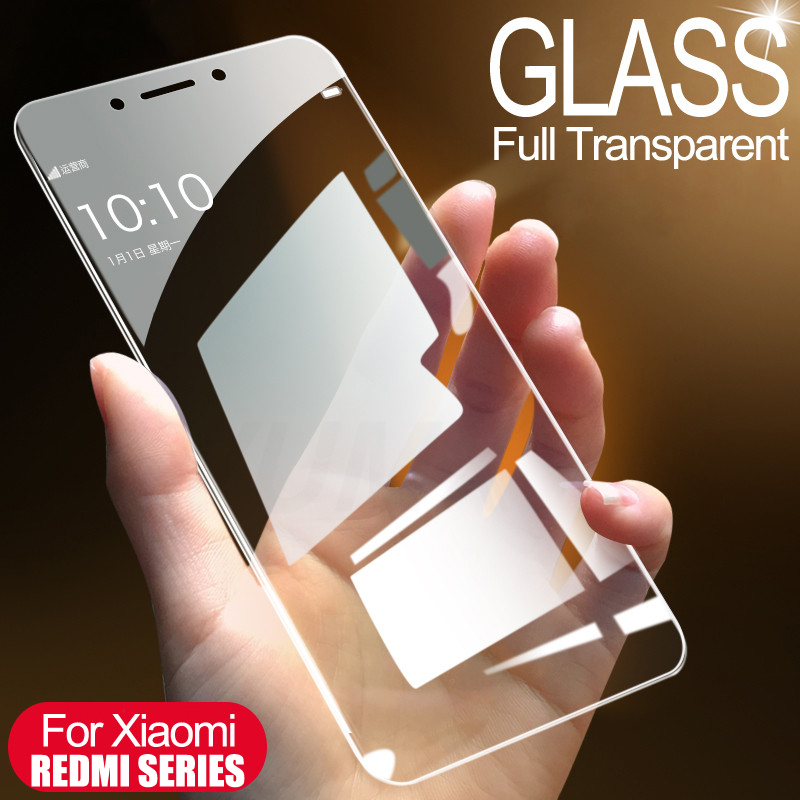 Protective Glass For Xiaomi Redmi 7A 7 4A 4X 5 5A 5 Plus Tempered Screen Protector Glass On The For Redmi 6 6A S2 Note 4 4X Film