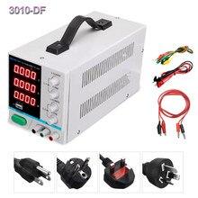 LW PS-3010DF – alimentation de laboratoire 30V, 10a DC, affichage LED 4 bits, charge USB, outil de réparation, alimentation à découpage