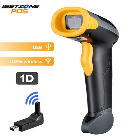 isyzonepos novo scanner portatil 433 mhz sem fio de alta qualidade 2d cmos barcode scanner