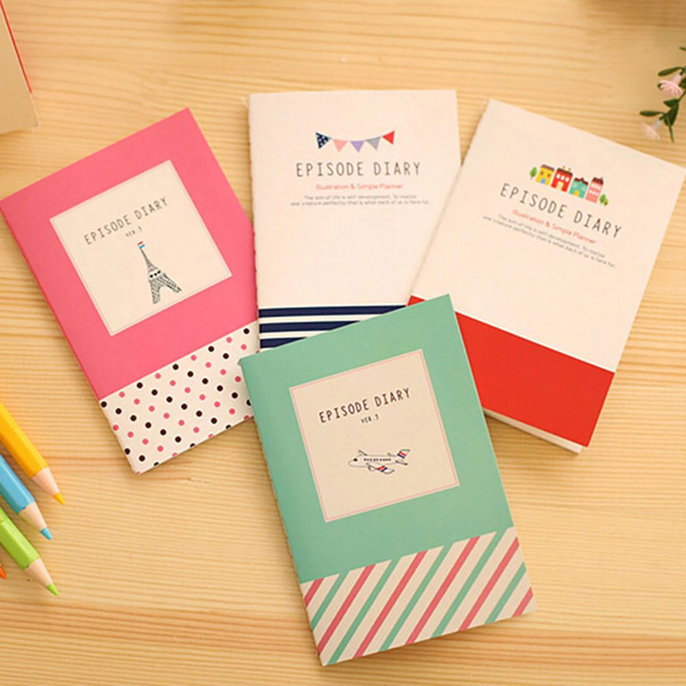 2020 New Cartoon Cute Student Little Notepad Memo Paper Journal Diary Notebook Student School Supplies Kid Gift Cheap Wholesale