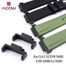 16 мм черный соединители адаптеры для объектива с оптическими зумом Casio G-SHOCK GA-110 GD-100 DW-5600 G-5600 Для мужчин заменить Для мужчин t ремешок Часы Рем...