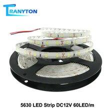 5630 Светодиодная лента dc12v гибкий светодиодный светильник