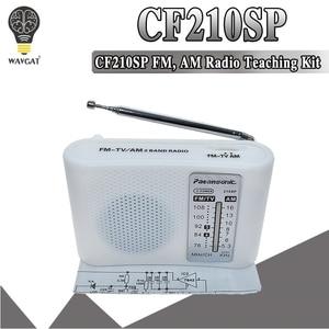 CF210SP AM/FM Stereo Radio Kit DIY Electronic Assemble Set Kit For Learner July DropShip DIY laboratory(China)