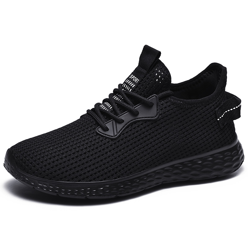 High Quality Shoes Men Breathable Lightweight Comfortable Sneakers Men Mens Casual Shoes Mesh Non-slip Big Size 39-48 Classic