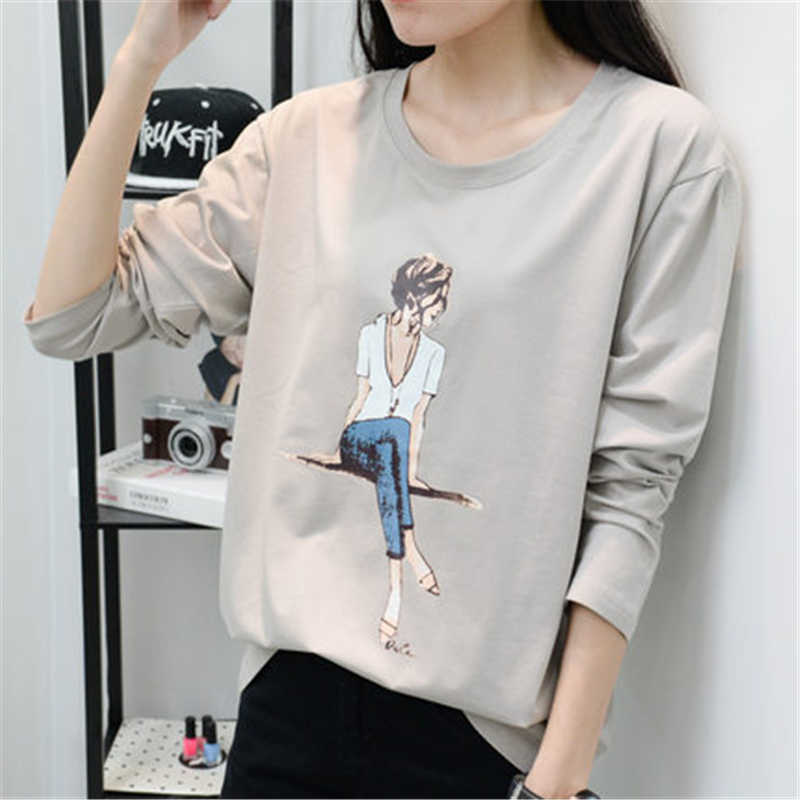 Women's Fashion Tops and Shirts Female Spring Long Sleeve T-Shirts Office Ladies Style Autumn Clothing LWL318