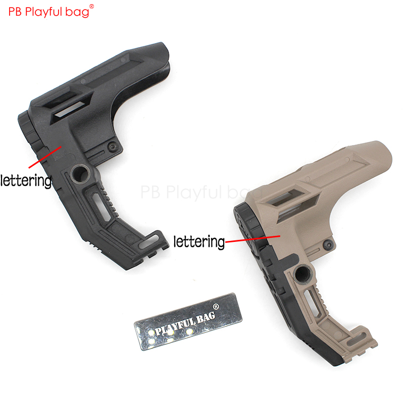 Outdoor CS Toys Accessories SS Nylon Rear Support GK5 Tactical Equipment  Water Bullet Gun Tactical DIY Accessories KD56