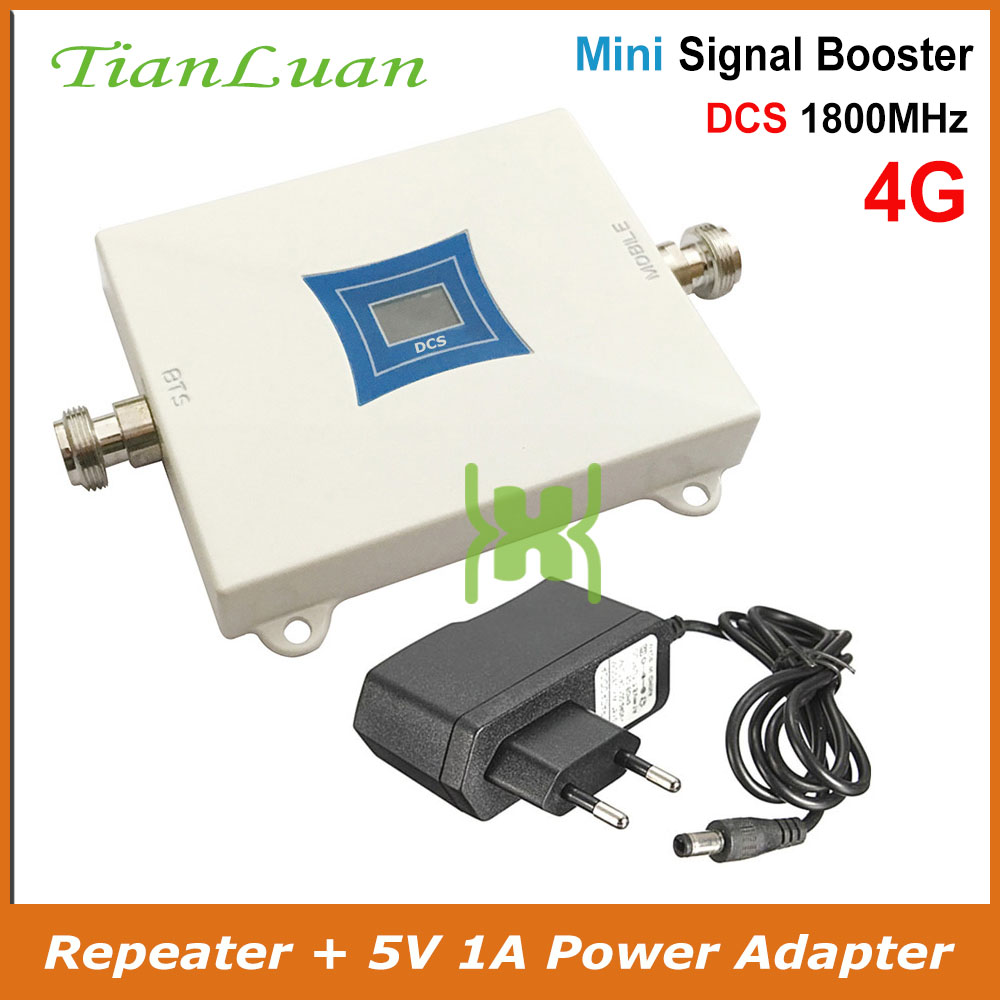 1800 Mhz Cell Phone Signal Booster For 4g Lte Signal Strengthen Device