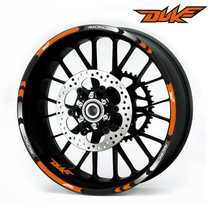 Decals Wheel-Sticker Reflective-Tape Motorcycle-Rim Stripes Ktm Duke 17inch for 200/390/690/990