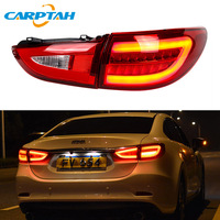Car Styling Taillight Tail Lights For Mazda 6 Atenza 2013 2018 Rear Lamp DRL + Dynamic Turn Signal + Reverse + Brake LED Light