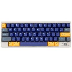 دوميكي hhkb abs doubleshot keycap مجموعة اتلانتيس الأزرق hhkb الشخصي ل topre الجذعية الميكانيكية لوحة المفاتيح HHKB المهنية برو 2 bt