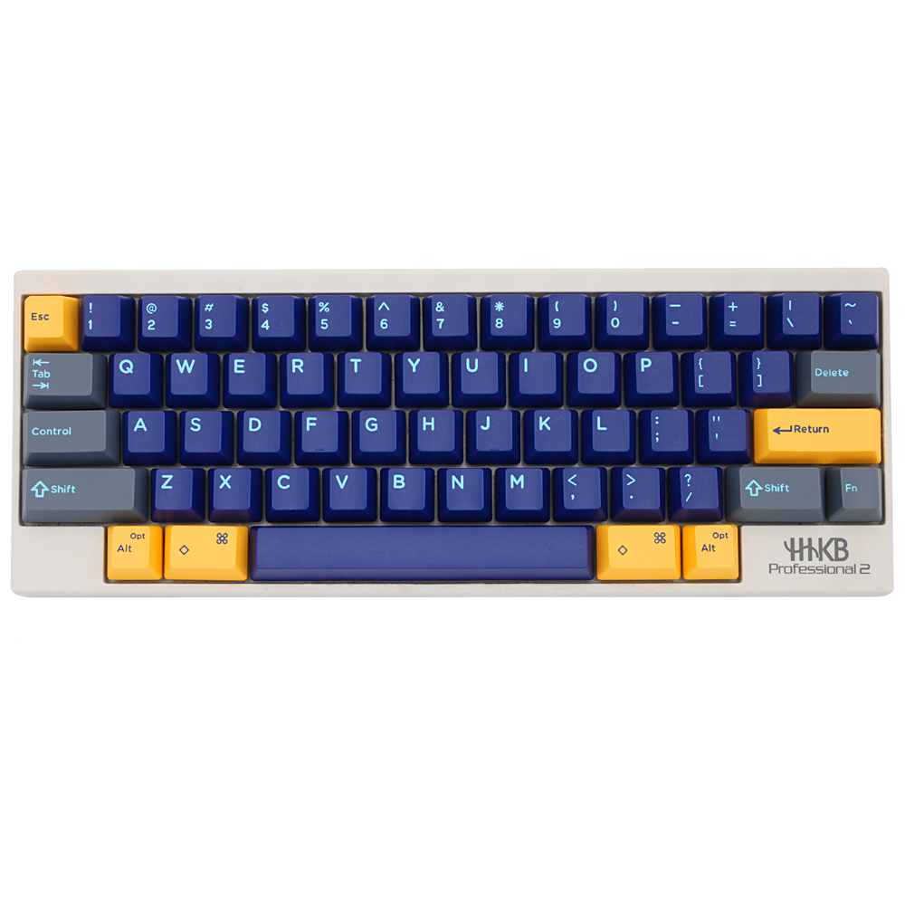 Domikey Hhkb Abs Doubleshot Keycap Set Atlantis Blue Hhkb Profile For Topre Stem Mechanical Keyboard HHKB Professional Pro 2 Bt