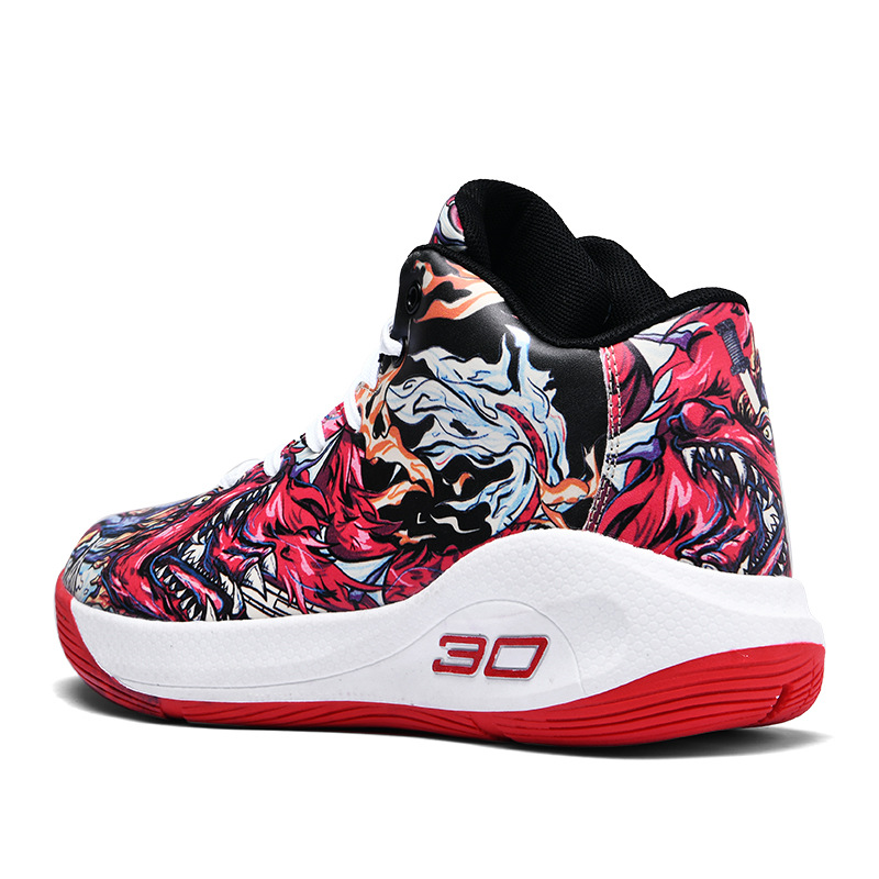 2020 New Big Size 45 High Top Basketball Shoes Male Street Basketball Culture Sneakers Curry Ankle Sport Shoes Unisex Boots