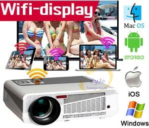 Image 2 - Смарт проектор светодиодный, 86 + wifi, 5500 лм, 1080p, HDMI, Android 6,0