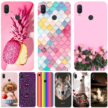 Case Huawei P Smart 2019 Cover Silicone Fundas for PSmart Capas 3D Coque Plus