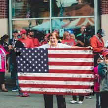 Bandeiras melhor américa bandeira grunge estilo unissextop t cômico melhor venda mais recente banner casa ao ar livre presente festa bandeira