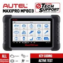 Autel MaxiPRO MP808 araç teşhis tarayıcı tüm sistem otomatik teşhis tarama aracı otomotiv teşhis Autoscanner PK DS808 MS906
