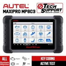 Autel MaxiPRO escáner de diagnóstico de coche MP808, todos los sistemas, autodiagnóstico, PK DS808 MS906