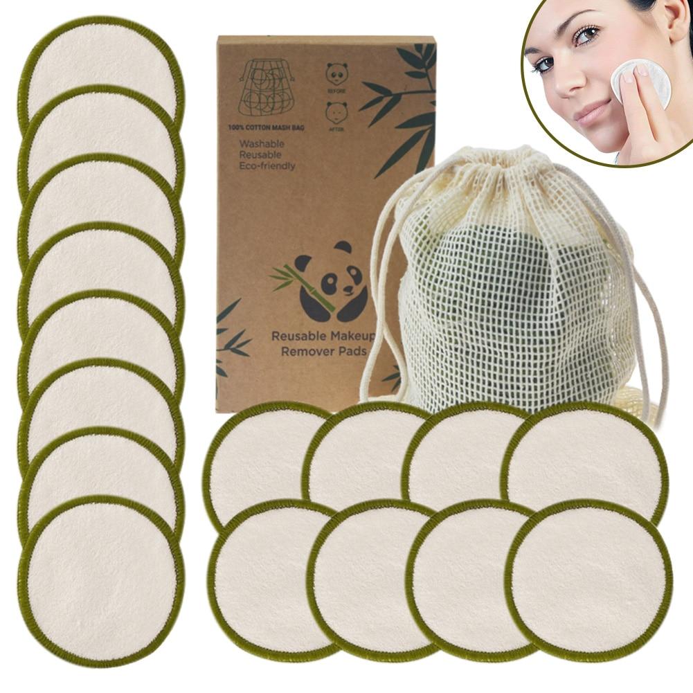 Многоразовые подушечки для снятия макияжа 4/8 набор кистей для макияжа, аксессуары для очистки Ватные диски для лосьон Foundation губная помада и...