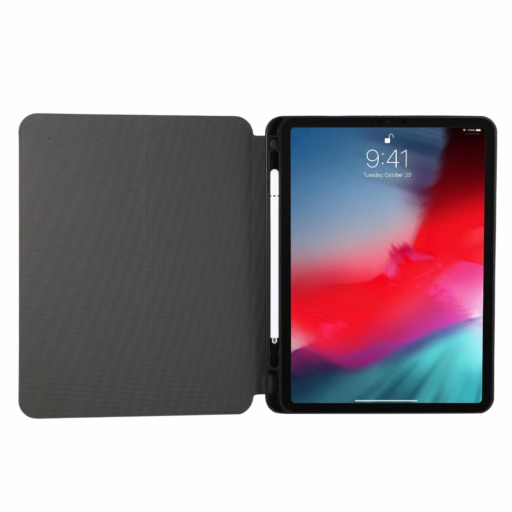 Slot 2018 2021 PU for 2020 Pro Tablet iPad Case pro11 Pencil Leather Thin TPU Stand A2228 Shell Flip Case Cover 11 iPadpro A2301