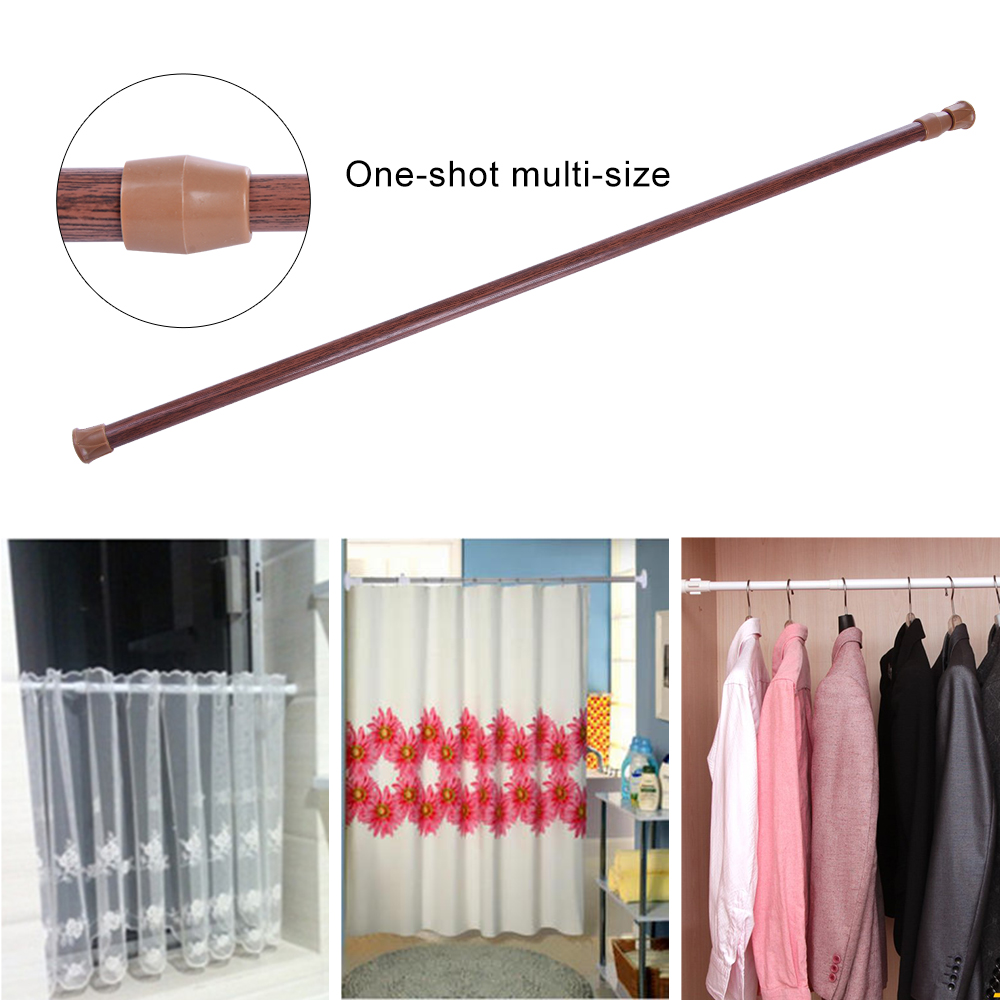 Telescopic Rod Curtain Rod High Carbon Steel Strut Household Bedroom Bathroom Kitchen Accessories Multifunctional