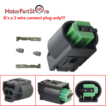 2 Wire Plug Bypass Emulator Air Bag Airbag Seat Occupancy Mat Sensor Fit BMW E32 E34 E36 E38 E39 E46 Z3 X5-E53 Weight Simulator image