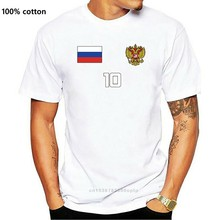 2019 Men Fashion Tshirts Funny Streetwear Brand Clothing Russia Jersey Shirt Soccers Russian Futbol American T Shirt