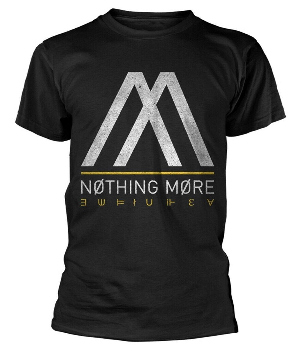 Nichts Mehr 'Album Logo' T-Shirt-Neu Und Offiziell