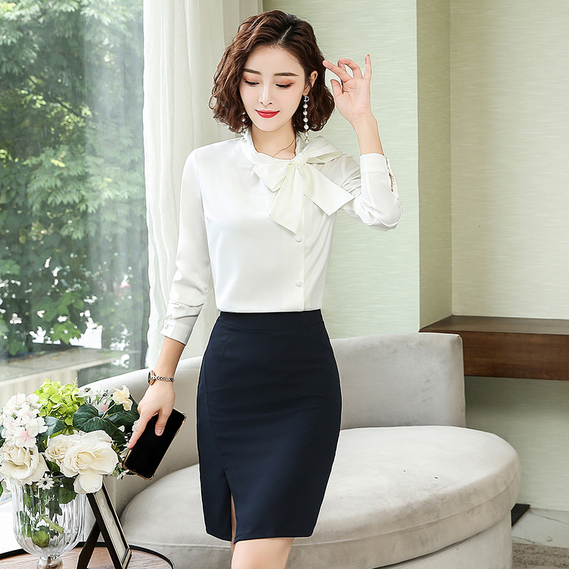 Wear New Style Wear WOMEN'S Shirt Collocation Short Skirt 2 Pieces Set Loose And Plus-sized Fashion