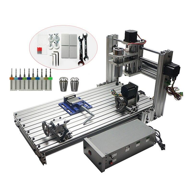 CNC 3060 in Wood Routers Mini DIY3060 Milling Drilling Machine USB Port Mach3 Wood Aluminum Carving Machine CNC Router 1