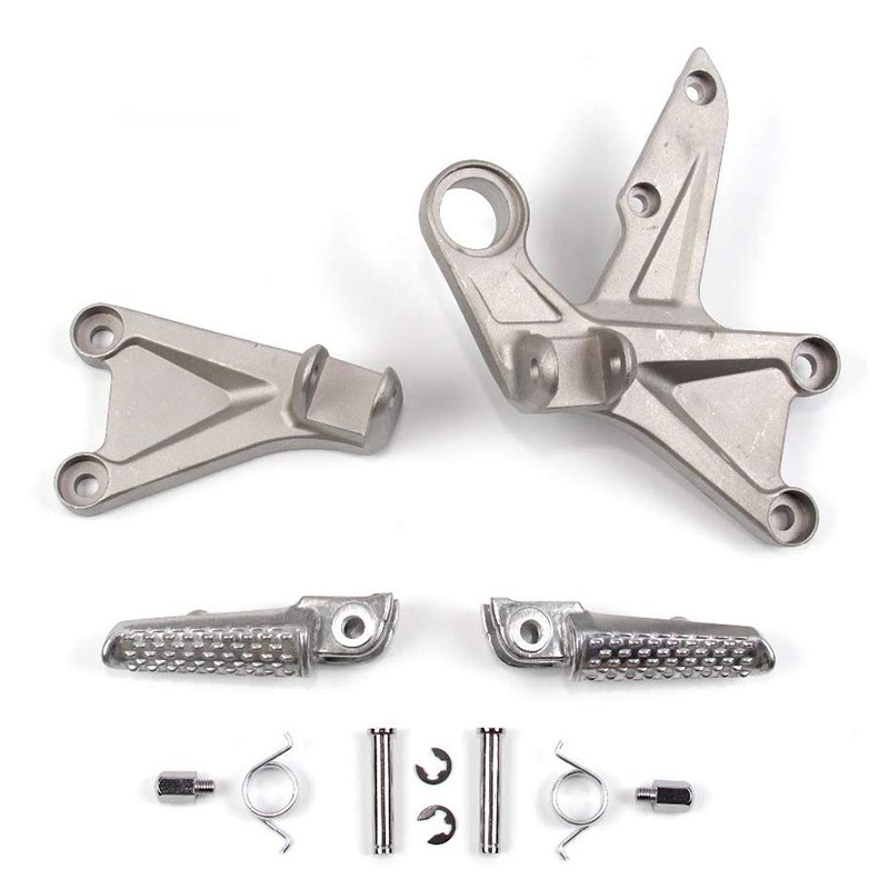 Front Foot Pegs Footrests Pedals for <font><b>HONDa</b></font> CBR1000RR <font><b>2008</b></font> - 2015 <font><b>CBR</b></font> <font><b>1000</b></font> <font><b>RR</b></font> CBR1000 1000RR 2009 2010 2011 2012 2013 2014 image