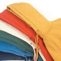 Sudadera con capucha para hombre, prenda deportiva masculina de tejido liso básico, con textura gruesa de 2021g, nueva Colección Otoño Invierno 360