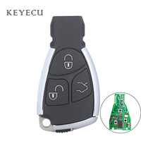 Keyecu Smart Remote Control Car Key Fob 3 Buttons 315/ 433MHz NEC Chip for Benz 2000 01 02 03 04 05 06 07 08 09 10 11 12 13 2014