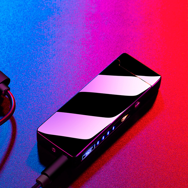 Купить двухдуговая электрическая зажигалка usb аккумуляторная плазменная