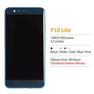 """Image 3 - 5.2 """"original para huawei p10 lite lcd display touch com montagem da moldura para p10 lite lcd tela WAS LX1 WAS LX1A WAS LX2 WAS LX3"""