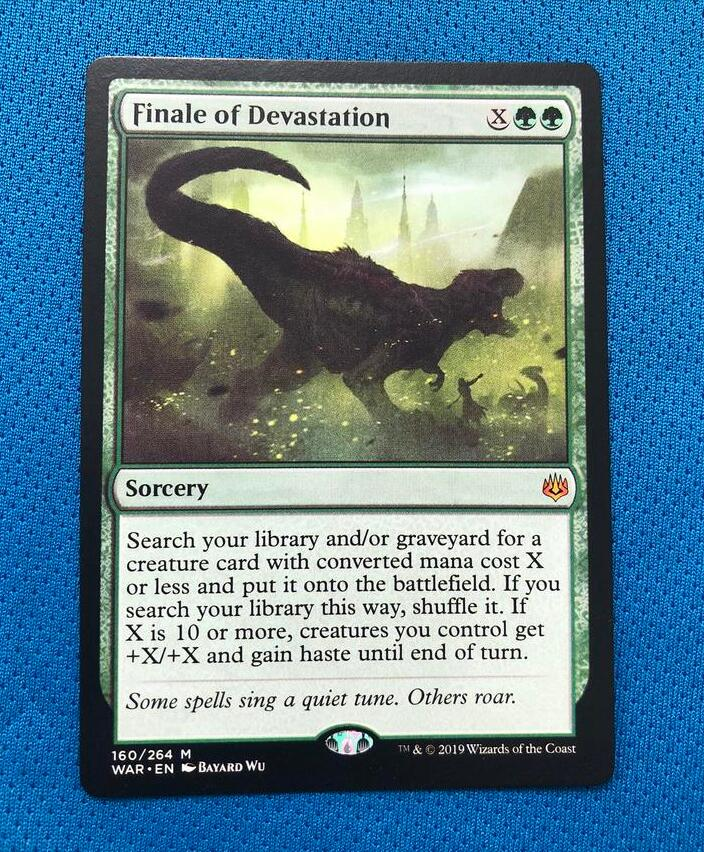 Finale Of DevastationWAR Hologram Magician ProxyKing 8.0 VIP The Proxy Cards To Gathering Every Single Mg Card.