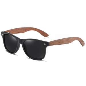 Image 2 - GM marka ceviz ahşap polarize erkek güneş gözlüğü kare çerçeve güneş gözlüğü kadın güneş gözlüğü erkek Oculos de sol Masculino S7061h