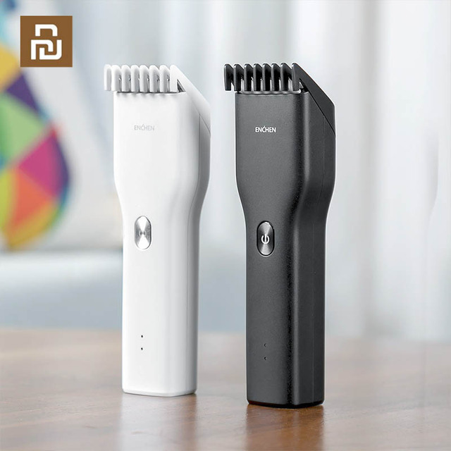 YouPin Enchen Boost Hair Clipper USB Electric Hair Clipper Two Speed Ceramic Cutter Hair Fast Charging Hair Trimmer Children
