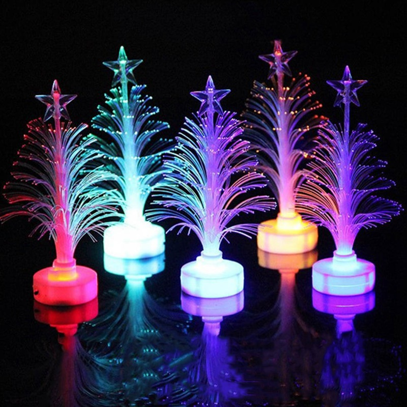 Super Christmas Xmas Tree Color Changing LED Light Lamp Home Decoration Freeshipping