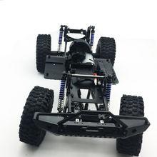 1/10 альпинистский автомобиль для scx10 рамка Металлическое