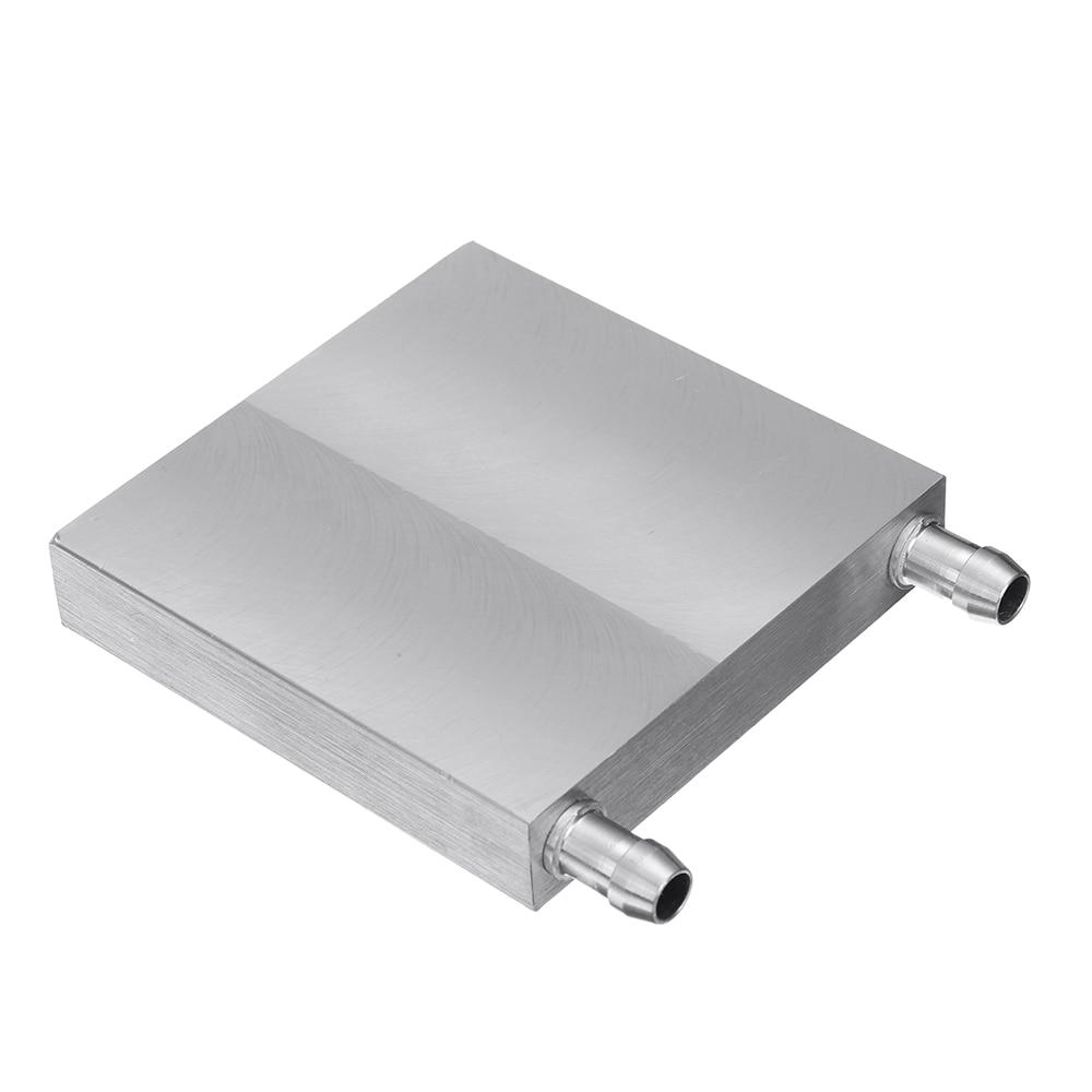 80x80x15mm Aluminum Water Cooling Block Semiconductor For CPU Radiator Heatsink