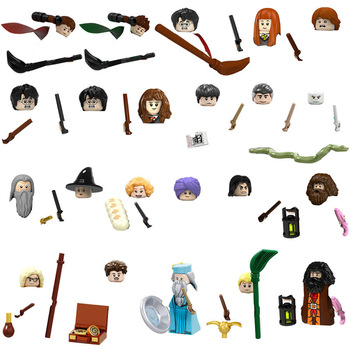 22pcs/set Harrys Potter series movie minifigures children's educational lego building block Educational Anime toys image