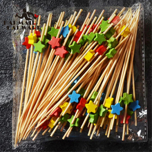 Food-Cocktail Fork-Bar-Tool Party Disposable Buffet Fruit Pick Bamboo Sandwich Desserts
