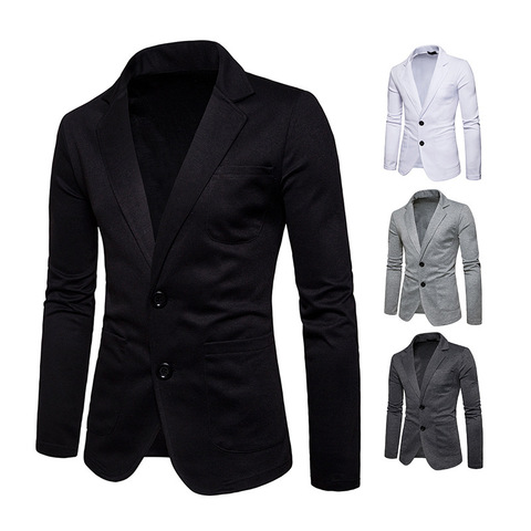 New Fashion Men Two Button Pocket Casual Blazer Jacket Autumn and Winter Corduroy Warm Suit Karachi