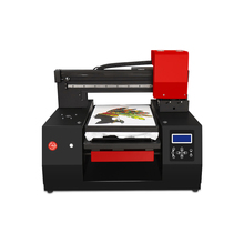 High Speed Automatic A3+ UV Printer Flatbed DTG Printer T-shirt Printers With Double Print Head For Textile Shirt Hoodies Canvas цена 2017