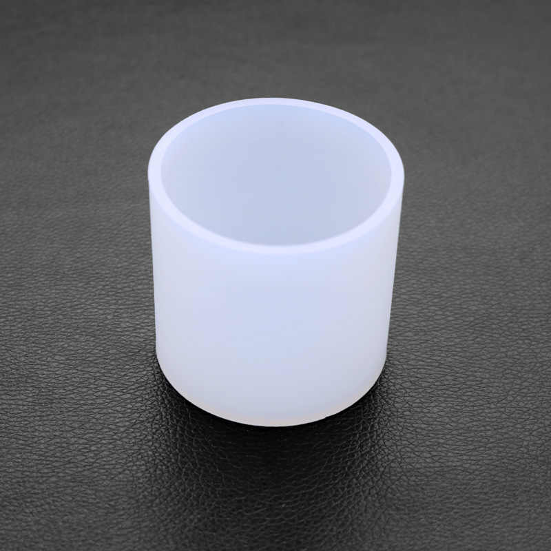 Candle Mould Succulents Cylinder Crystal Glue Resin Mold Silicone Casting Mould