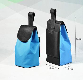 Torby na zakupy na wózek na zakupy torby na zakupy torby na zakupy kobieta kosz na zakupy wodoodporna torba oksfordka duże torby na kółkach torebka do przechowywania tanie i dobre opinie CN (pochodzenie) Torby do przechowywania Ekologiczne Składane Oxford Trójwymiarowe Prostokątne Na rozmaitości