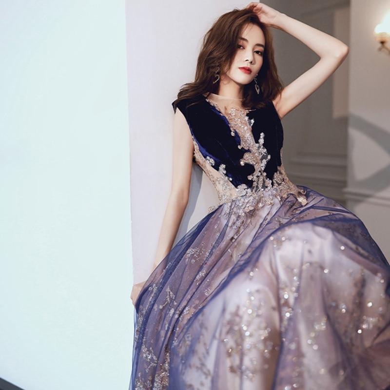 evening dress long female clothing